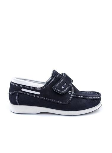 Cicibebe Deri Erkek Çocuk Ayakkabısı Lacivert